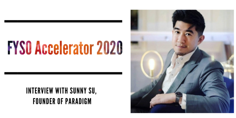Sunny Su - Founder of Paradigm