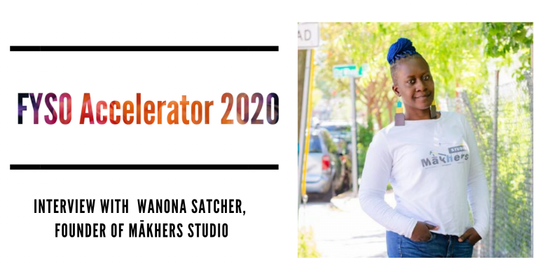 Wanona Satcher, CEO and Founder of Mākhers Studio, LLC